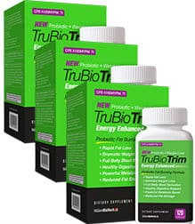 TrubioTrim Fat Burner, Energy Booster, Digestive Support, Probiotic