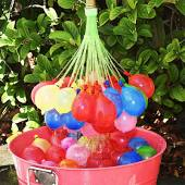 Battle Balloons Color Burst Fill & Seal Colored Water Balloons In Just Seconds