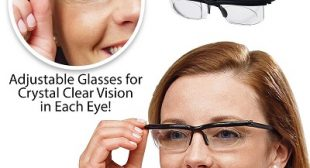 Dial Vision World's First Glasses Adjustable Glasses for Distance