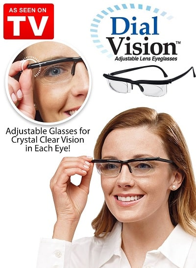 Dial Vision Glasses Amazon