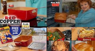 The Amazing Red Copper Square Pan!