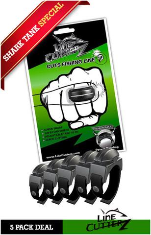 Line Cutterz Ring that Cuts Fishing Line Quickly on Shark Tank