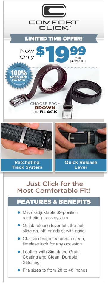 comfort click belt