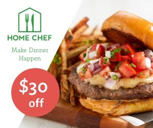 Home Chef Hamburger