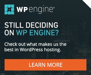wp engine best hosting