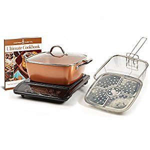 Copper Chef XL Pan Works on Stove Top and In Oven