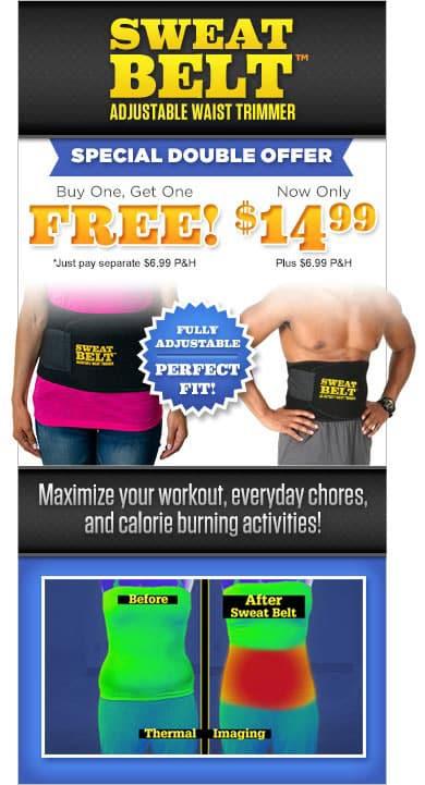 sweat belt offer