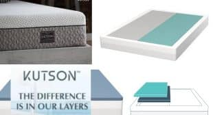 Kutson Mattress Dual Side Layer Adjustable 100 Day Free Trial Offer