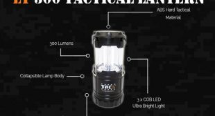 LT300 Lantern from TAC5 Collapsible Lamp Body