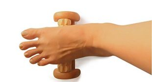 TheraFlow Foot Massager Roller – Relieve Foot Arch Pain, Plantar Fasciitis, Aches & Soreness