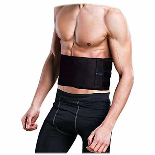 Asoonyum Waist Trainer Trimmer Shaper for Women Men Weight Loss