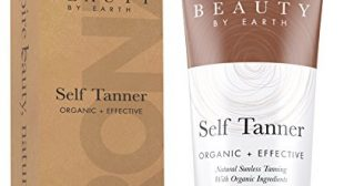 Self Tanner – Organic and Natural Ingredients Sunless Tanning Lotion and Best Bronzer Golden Buildable Light, Medium or Dark Gradual Tan for Body and Face 7.5 oz
