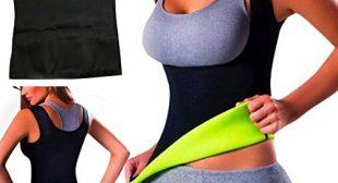 Women Hot Sweat Body Shaper Tank Thermo Yoga Sauna Neoprene Vest Fat Burner Slimming Waist Shaper Trainer Cincher (L)