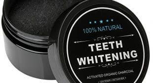 INST Teeth Whitening Activated Coconut Charcoal Powder 2.1 ozs 100% Natural Coconut Carbon Powder – Whiten Teeth Stains from Coffee,Cigarette,Wine with No Harm – Fresh Mint Flavor (1PCS)