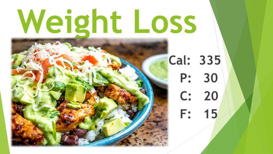 Weight Loss Flex Pro Meals