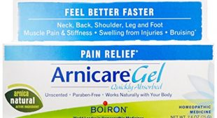 Boiron Arnica Gel for Pain Relief Topical Analgesic for Neck Pain, Back Pain, Shoulder Pain, Leg and Foot Pain, Muscle Pain, Joint Pain Relief, Arthritis