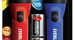 Eveready LED Flashlight (2 Pack)