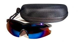 TAC GLASSES by Bell+Howell Sports Polarized Sunglasses for Men/Women, Military-Inspired As Seen On TV (Blue)