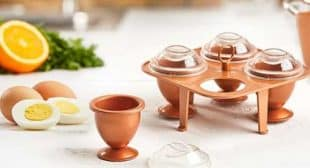 Copper Chef Eggs – Cook Hard Bowl Eggs Without the Shells