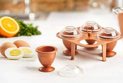 Copper Chef Eggs - Cook Hard Bowl Eggs Without the Shells