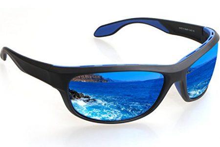 TAC Polarized Sports Sunglasses, Zhara 100% UV Protection Impact Resistance