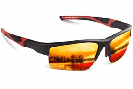 Polarized Sports Sunglasses for Men and Women,Zhara 100%