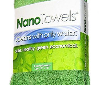 Nano Towels - Amazing Eco Fabric That Cleans Virtually Any Surface With Only Water