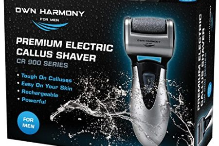 Callus Remover: Electric Rechargeable Pedicure Tools for Men by Own Harmony