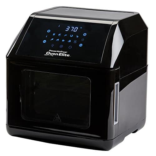 6 QT Power Air Fryer Oven Elite - 10 In 1 Cooking Features