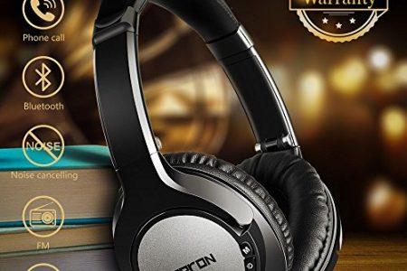 Bluetooth Headphones Over Ear, Hi-Fi Stereo Wireless Headset, Super Comfortable Headphones