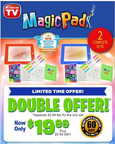 Magic Pad Limited Time Offer
