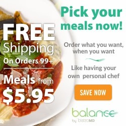 Balance by BistroMD Free Shipping