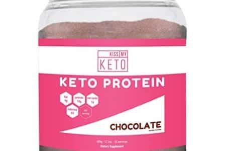Kiss My Keto Protein Powder - Chocolate Keto Collagen Supplement