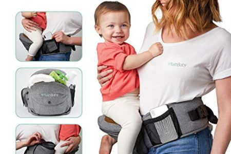 TushBaby Hip Seat Baby Carrier