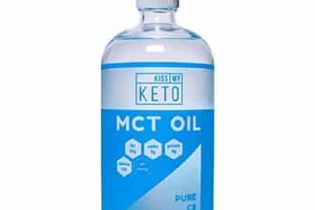 Kiss My Keto C8 MCT Brain Fuel Oil - Pure MCT Oil C8 32 oz
