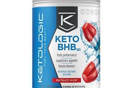 KetoLogic BHB Keto Supplement Suppresses Appetite & Increases Energy