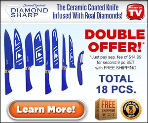 Diamond Sharp Knives