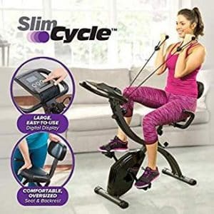 girl using slim cycle