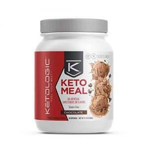 KetoLogic Keto Meal Replacement MCT Shake & Promotes Weight Loss