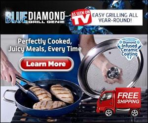 blue diamond grill genie