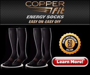 copper fit energy socks