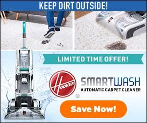 hoover smartwash rug cleaner