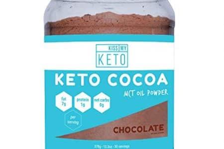 Kiss My Keto Keto Cocoa - Sugar-Free Hot Keto Chocolate C8 MCT Oil Powder