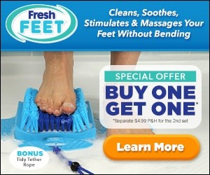 fresh feet as seen on tv