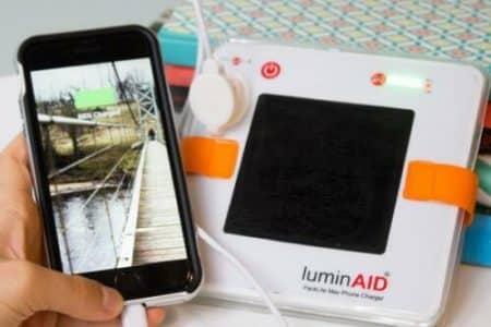 LuminAID PackLite Terra Solar Inflatable Lantern