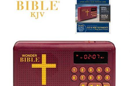 Wonder Bible Talking Audio Bible Player Endorsed by Pat Boone