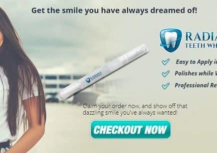 radiance teeth whitening kit