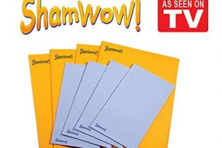 The Original Shamwow - Super Absorbent Multi-purpose Cleaning Shammy