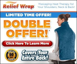 Thermapulse Relief Wrap Extra-Long Heat Wrap