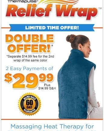 thermapulse relief wrap